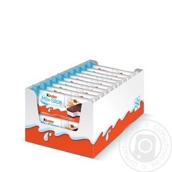 Пирожное Kinder Milk Slice бисквитное с молочной начинкой 5шт 28г - купить, цены на Ашан - фото 3