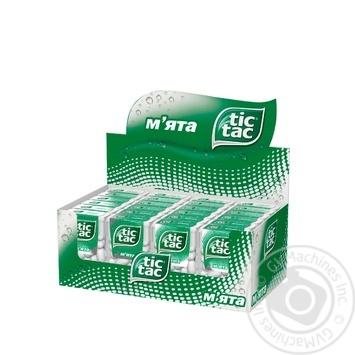 Tic Tac Mint Dragee 16g - buy, prices for MegaMarket - image 3