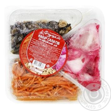Набор салатов Фуршет по-корейски №16 300г