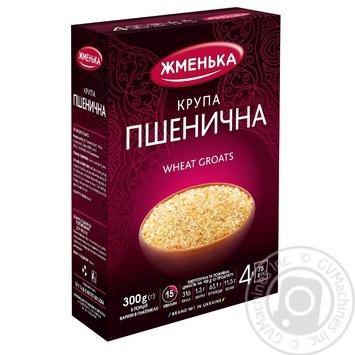 Крупа Жменька пшеничная в пакетиках 300г