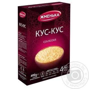 Groats Zhmenka 400g cardboard box - buy, prices for Novus - image 1