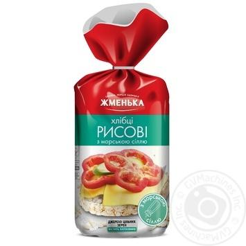 Zhmenka Rice Crispbread With Sea Salt - buy, prices for MegaMarket - image 1