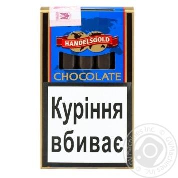 Handelsgold White Cigarillos Chocolate Cigars 5pcs - buy, prices for CityMarket - photo 1
