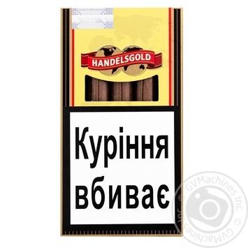 Сигары Handelsgold Vanilla Cigarillos 5 - купить, цены на СитиМаркет - фото 1