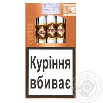 Cigars Candle light 5pcs 0mg - buy, prices for CityMarket - photo 1