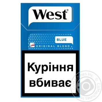 Сигареты West Blue KS 20