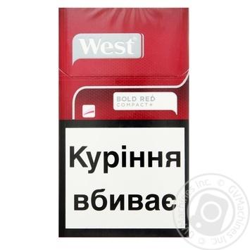 Сигареты West Компакт Ред - купить, цены на Фуршет - фото 1