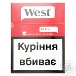Цигарки West Original Blend Red XL 25шт
