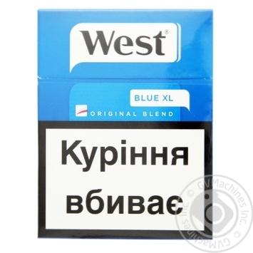 Cigarettes West Original Blend Blue 25pcs