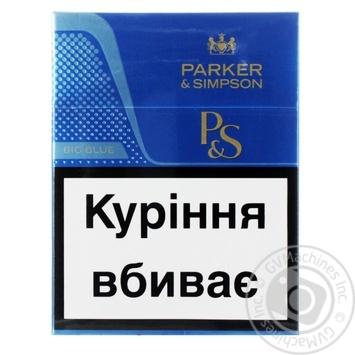Сигареты Parker & Simpson Blue - купить, цены на Фуршет - фото 1