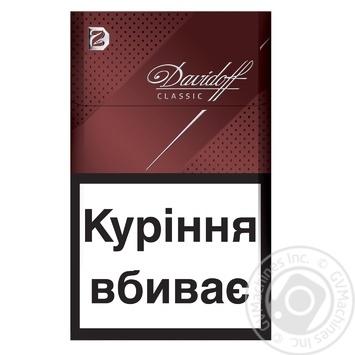 Сигареты Davidoff Classic - купить, цены на Фуршет - фото 1
