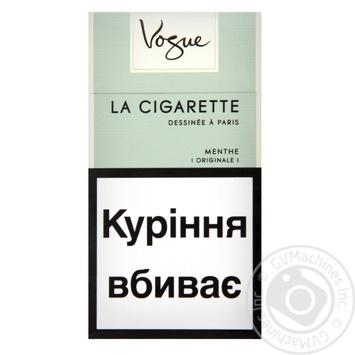 Сигареты Vogue Menthe - купить, цены на Фуршет - фото 1