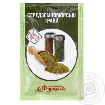Смесь Средиземноморские травы Фуршет 10г - купить, цены на Фуршет - фото 1