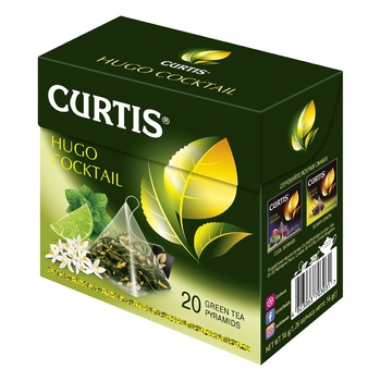 Curtis Hugo Cocktail green tea 20*1,8g
