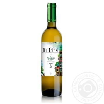 Вино Старый Тбилиси Алаверди белое полусухое 12% 0,75л - купить, цены на Novus - фото 2