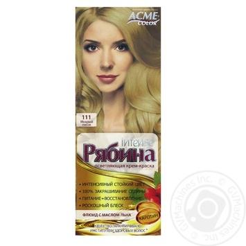 Краска для волос Acme 111 Мокрый песок 100мл - купить, цены на Varus - фото 1