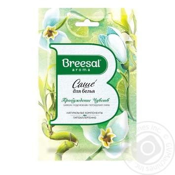 Breesal Senses Awakening For Linen Aromatic Sachet 20g - buy, prices for Novus - image 1