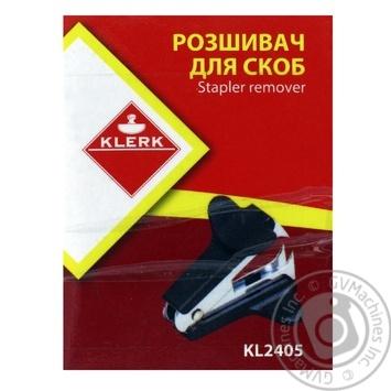Розшивач Klerk скоб KL2405 - купить, цены на Фуршет - фото 1