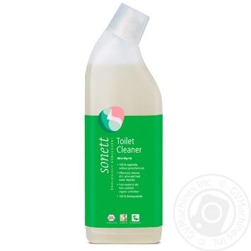 Средство Sonet органическое для мытья туалетов мята и мирт 750мл - купить, цены на Novus - фото 1