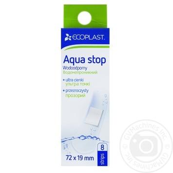 Пластырь Ecoplast Aqua stop медицинский 8шт - купить, цены на Фуршет - фото 1