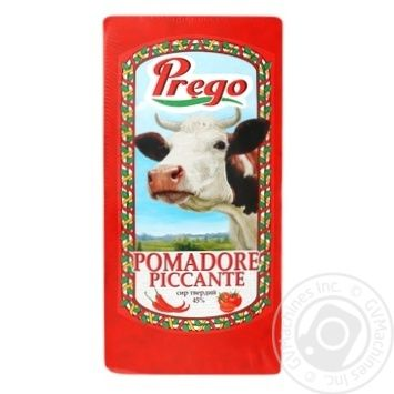 Сыр Prego Pomadore piccante 45% весовой - купить, цены на Фуршет - фото 1