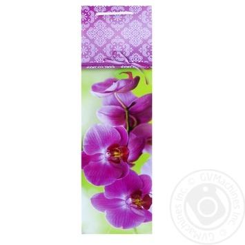 Пакет подарочный Королевство подарков Бутылка - купить, цены на Фуршет - фото 2