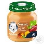 Gerber Organic for babies apricot-peach-apple puree 125g