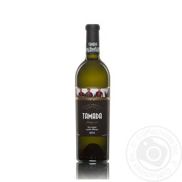 Вино Tamada Grand Reserve белое сухое 13% 0,75л