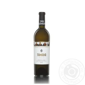 Вино Tamada Qvevri белое сухое 11-14,5% 0,75л