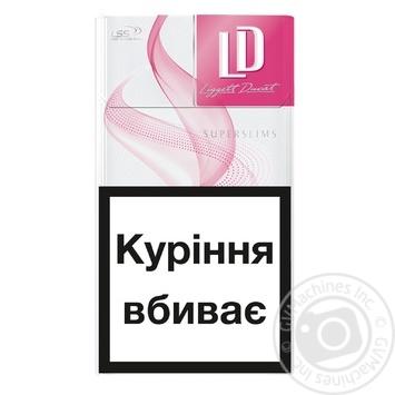Сигареты LD Super Slims Pinks - купить, цены на СитиМаркет - фото 2