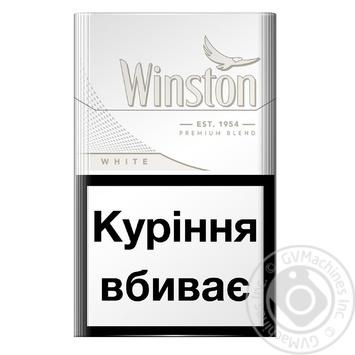Сигареты Winston White - купить, цены на СитиМаркет - фото 2