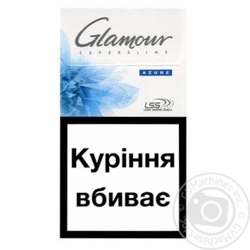 Цигарки Glamour Azure - купити, ціни на CітіМаркет - фото 2