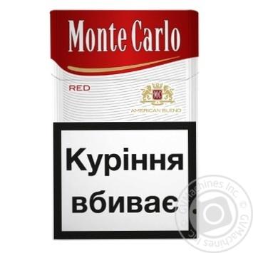 Monte Carlo Red Cigarettes