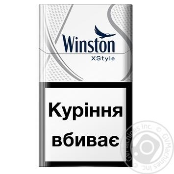 Сигареты Winston XStyle Silver - купить, цены на Фуршет - фото 1