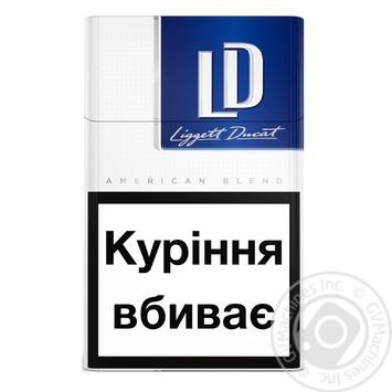 Сигареты LD Blue Limited - купить, цены на Фуршет - фото 2