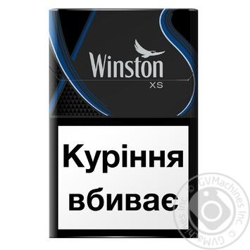 Сигареты Winston XS Blue