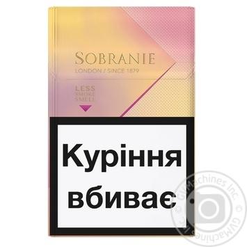Сигареты Sobranie KS Super Slim Golds - купить, цены на ЕКО Маркет - фото 2