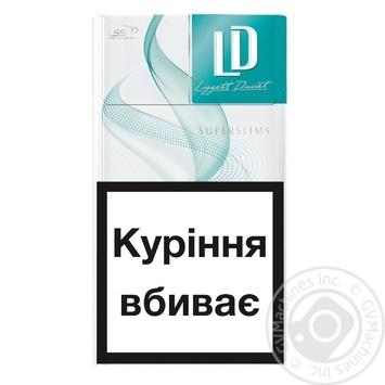 Цигарки LD Menthol - купити, ціни на CітіМаркет - фото 2