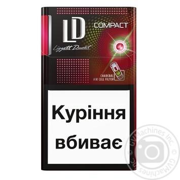 Цигарки LD Autograph Compact Red Rhythm - купити, ціни на CітіМаркет - фото 2