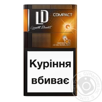 сигареты ld compact silver купить
