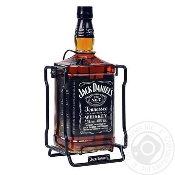 Jack Daniel`s Old No. 7 Whiskey 40% 3l - buy, prices for Novus - image 2