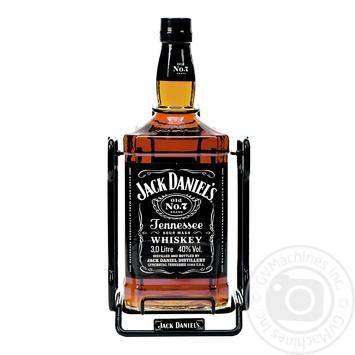 Виски Jack Daniel`s Old No. 7 40% 3л - купить, цены на Фуршет - фото 1