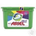 Капсулы для стирки Ariel Pods All In 1 Color 15шт 28,8г
