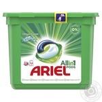Капсулы для стирки Ariel Pods 3 в 1 Горный родник автомат 23шт 28,8г