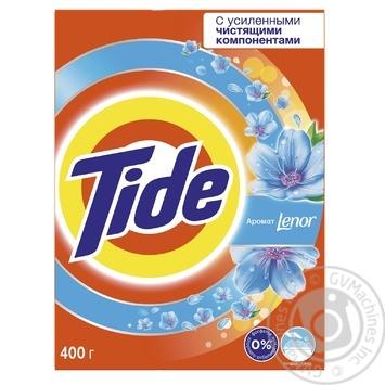 Пральний порошок Tide 2в1 Lenor Effect для ручного прання 400г
