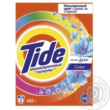 Стиральный порошок Tide Color Lenor Touch of Scent автомат 450г