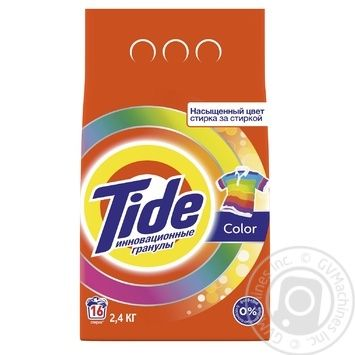 Tide Color Automat Laundry Detergent Powder 2,4kg - buy, prices for Metro - image 1