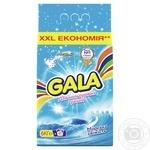Пральний порошок Gala Морська свіжість для кольорової білизни 6кг