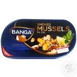 Banga Mussels in oil with lemon 120g