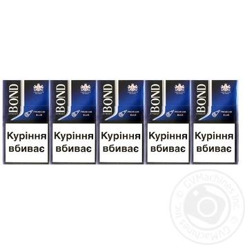 Сигареты Bond Street Blue №6